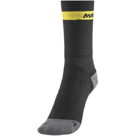 Mavic Ksyrium Elite Thermo Socks Black/Dark Cloud